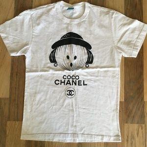 BENDITA AUGUSTA COCO CHANEL Graphic T-shirt XS